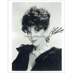 Joan Collins Autographed 10x8 Photo