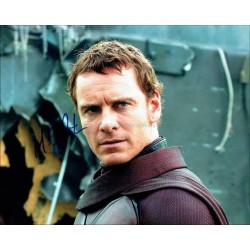 Michael Fassbender Autographed 10x8 Photo