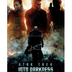 Star Trek Into Darkness Autographed 10x8 Photo