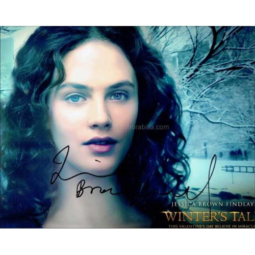 Jessica Brown Findlay Autographed 10x8 Photo