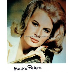 Molly (Mollie) Peters Autographed 10x8 Photo