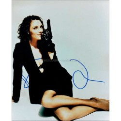 Famke Janssen Autographed 10x8 Photo