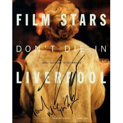 Film Stars Don't Die in Liverpool Autographed 10x8 Photo