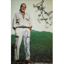Sean Connery Autographed 11x7 Magazine Page