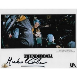 Michael Culver Autographed 10x8 Photo