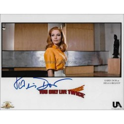 Karin Dor Autographed 10x8 Photo