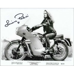 Luciana Paluzzi Autographed 10x8 Photo