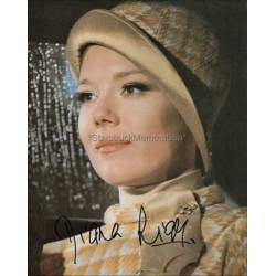 Diana Rigg Autographed 10x8 Photo