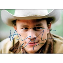 Heath Ledger Autographed 12x8 Photo