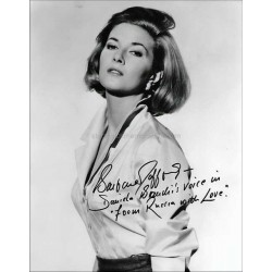 Barbara Jefford Autographed 10x8 Photo