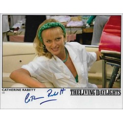 Catherine Rabett Autographed 10x8 Photo