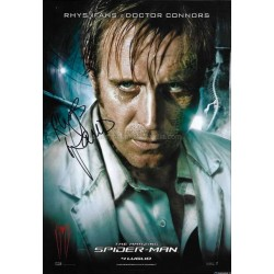 Rhys Ifans Autographed 12x8 Photo