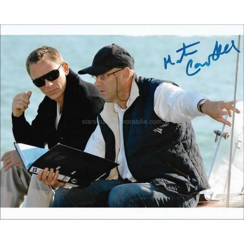 Martin Campbell Autographed 10x8 Photo