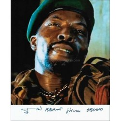 Isaach De Bankole Autographed 10x8 Photo