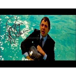 Rowan Atkinson Autographed 10x8 Photo