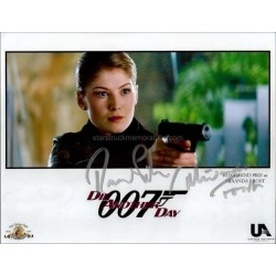 Rosamund Pike Autographed 10x8 Photo