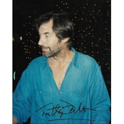 Timothy Dalton Autographed 10x8 Photo