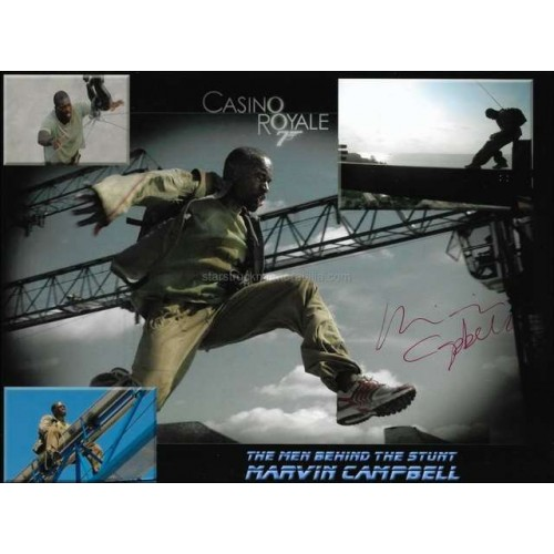 Marvin Campbell Autographed 10x8 Photo