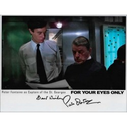 Peter Fontaine Autographed 10x8 Photo