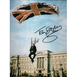 Toby Stephens Autographed 10x8 Photo