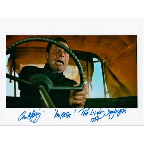 Carl Rigg Autographed 10x8 Photo