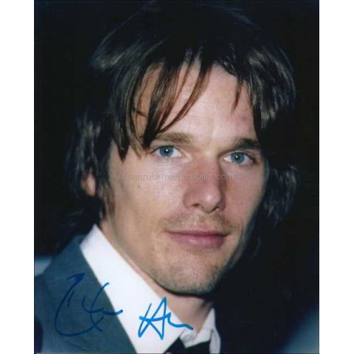 Ethan Hawke Autographed 10x8 Photo