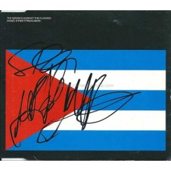 Manic Street Preachers Autographed CD Cover