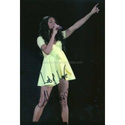 Alesha Dixon Autographed 11x8 Photo