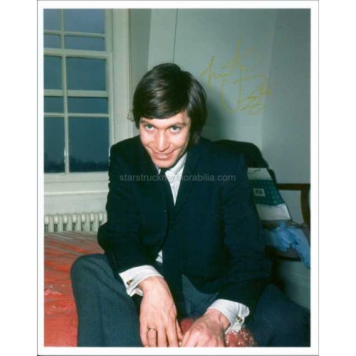 Charlie Watts Autographed 10x8 Photo