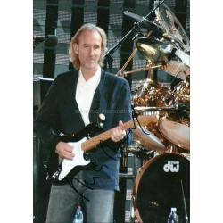 Mike Rutherford Autographed 11x8 Photo