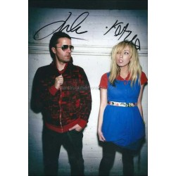 The Ting Tings Autographed 11x8 Photo