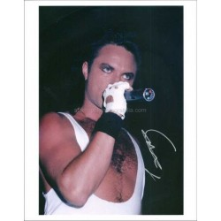 Geoff Tate Autographed 10x8 Photo