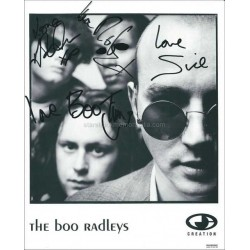 Boo Radleys Autographed 10x8 Photo