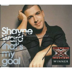 Shayne Ward Autographed CD Cover