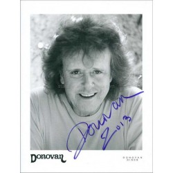 Donovan (Leitch) Autographed 10x8 Photo