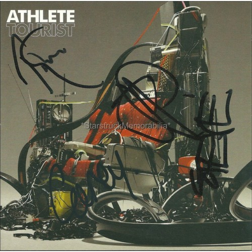 Athlete Autographed CD Cover