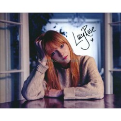 Lucy Rose Autographed 10x8 Photo