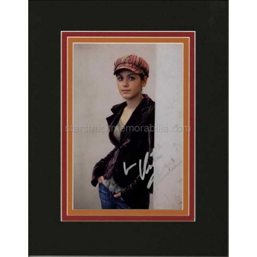 Katie Melua Autographed 14x11 Custom Matted Display