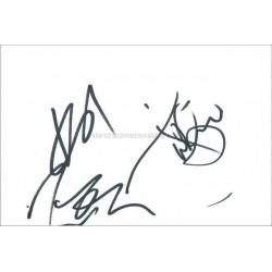 Sugarbabes Autographed 6x4 Card