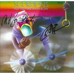 Scorpions Autographed 8x8 Photo
