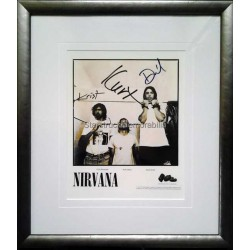 Nirvana Autographed 16x14 Display