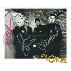 Blondie Autographed 10x8 Photo