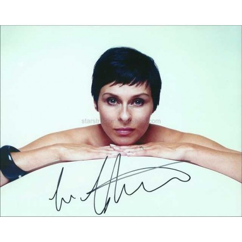 Lisa Stansfield Autographed 10x8 Photo