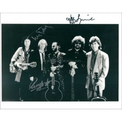 Ringo Starr, Jeff Lynne, Tom Petty Autographed 10x8 Photo