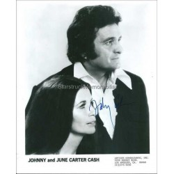 Johnny Cash Autographed 10x8 Photo