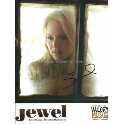 Jewel Kilcher Autographed 10x8 Photo