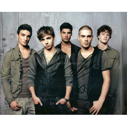 Max George Autographed 10x8 Photo