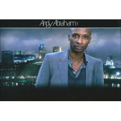Andy Abraham Autographed 12x8 Photo