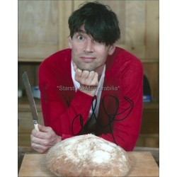 Alex James Autographed 10x8 Photo