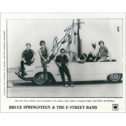 Bruce Springsteen Autographed 10x8 Photo